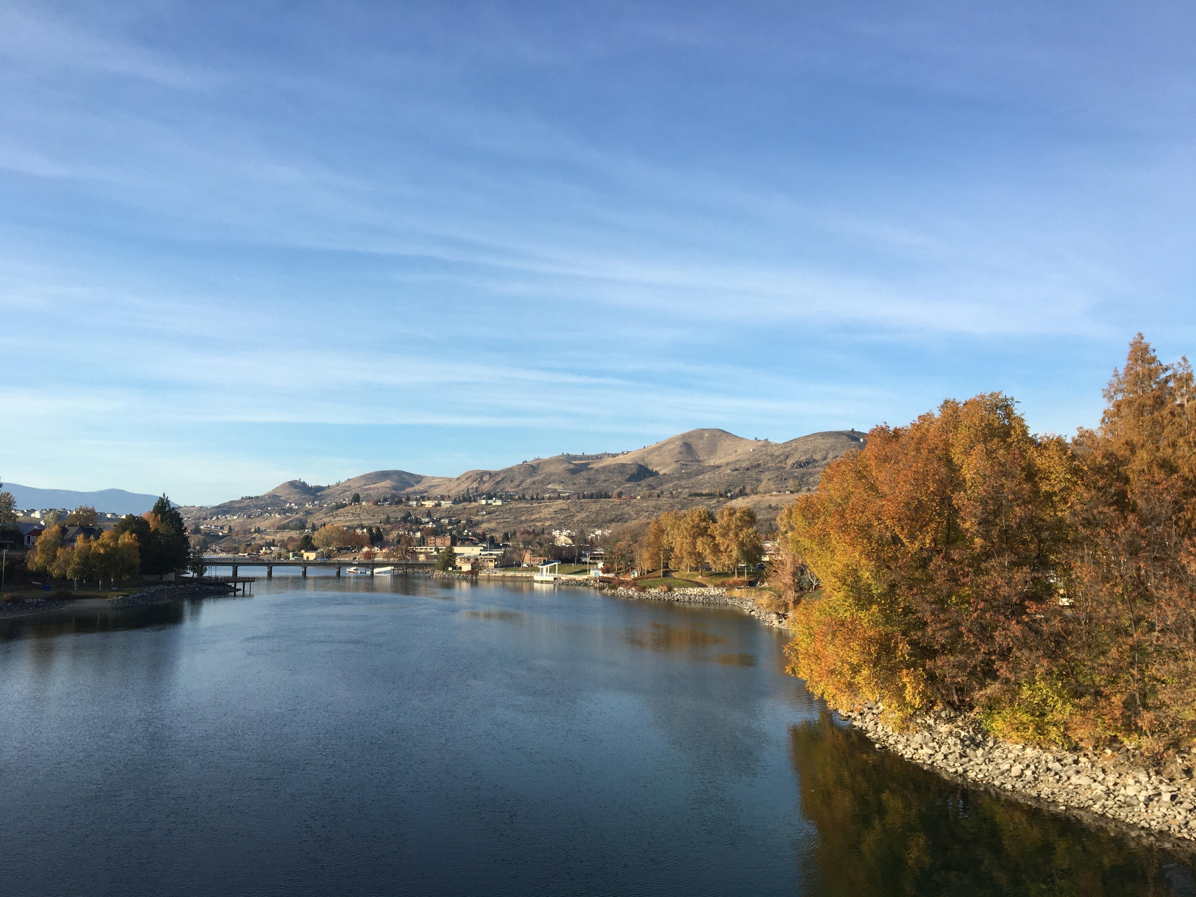 Chelan river